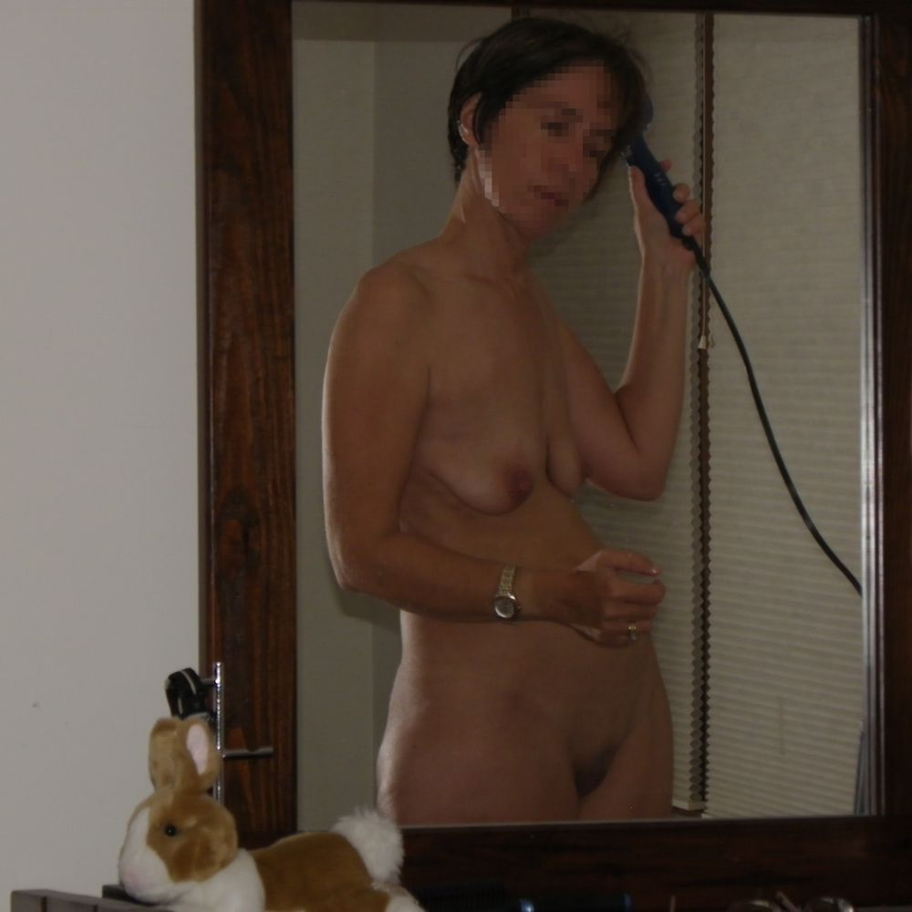from Ean wife nude drying hair